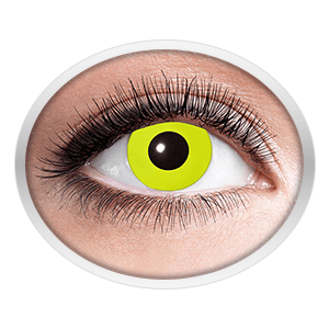 Yellow contact lenses (Yellow Crow Eye) product image