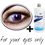 purple contact lenses (Purple Gothic) product image