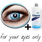 Blue contact lenses (Electro Blue) product image