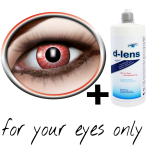 Red contact lenses (Electro Red) product image