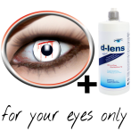 White contact lenses (White Slash) product image