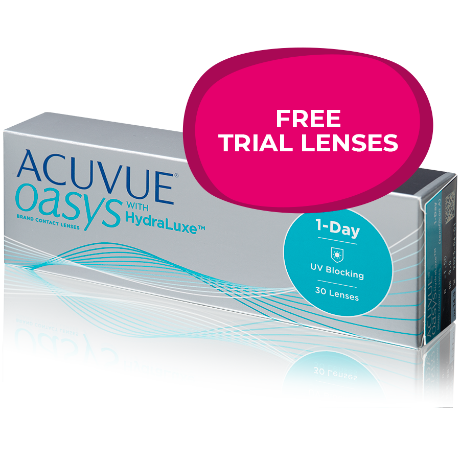 ACUVUE OASYS 1-DAY with HydraLuxe - SAMPLELENS