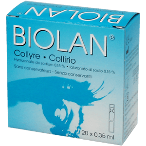 Biolan Teardrops 20x0.35ml product image
