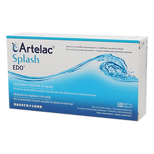 Artelac Splash EDO Eyedrops 30x0.50 ml product image