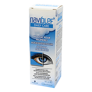 Naviblef Daily Care Foam for the Eyelids 50ml product image