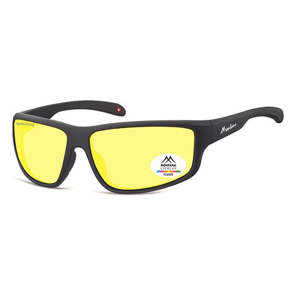 Sportbrille Outdoor Yellow Classic Size