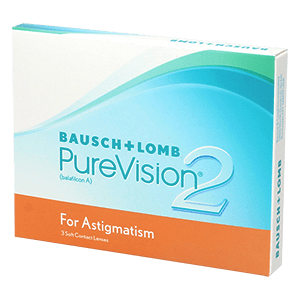 PureVision2 for Astigmatism 3 product image