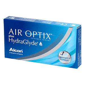 AIR OPTIX plus HydraGlyde 3