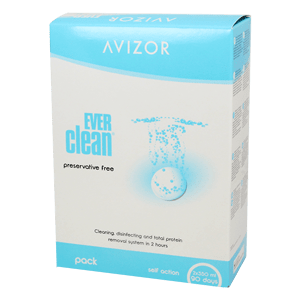 Avizor EVERclean 2x350ml and 90pcs Tablets
