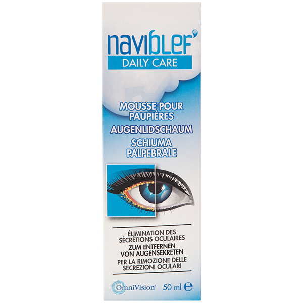 Naviblef Daily Care Schiuma per le palpebre 50ml