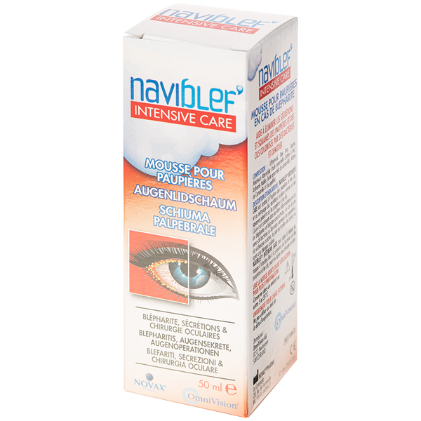 Naviblef Intensive Care Schiuma per palpebre 50ml