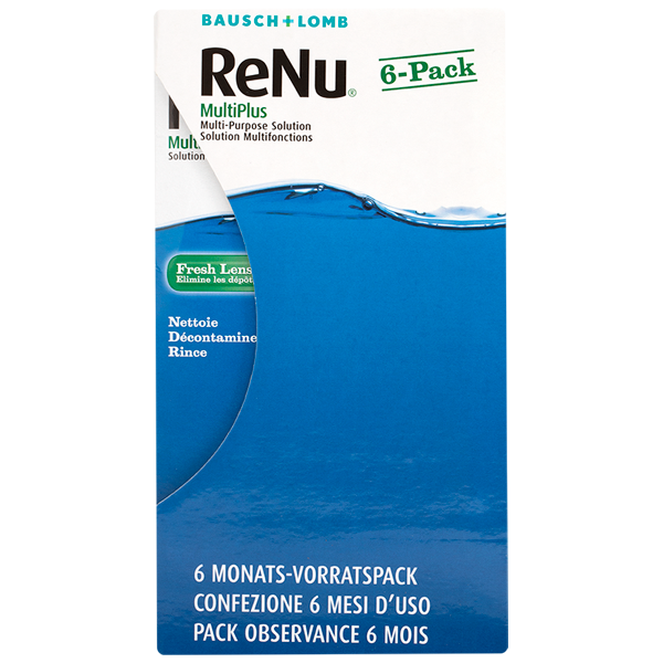 ReNu MultiPlus Jumbo Pack - 6 x 240ml